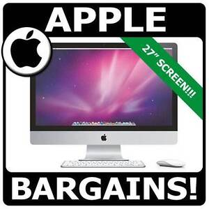 "APPLE iMac A1312 i7 3.8Ghz 27"" WIDESCREEN 4GB 8GB 16GB 32GB 1TB!! Pyrmont Inner Sydney Preview"