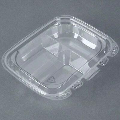 Placon Crystal Seal Refresh 13 Oz. Clear 3-compartment Container 200case