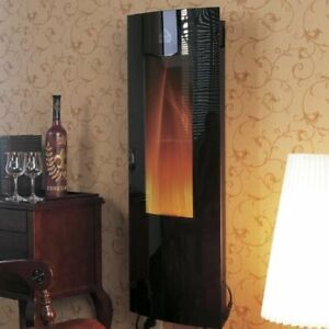 Vertical Wall Mounted Electric Fireplace