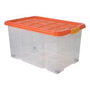 kunststoffbox mit deckel boxen ebay. Black Bedroom Furniture Sets. Home Design Ideas