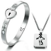 Lock and Key Bracelet