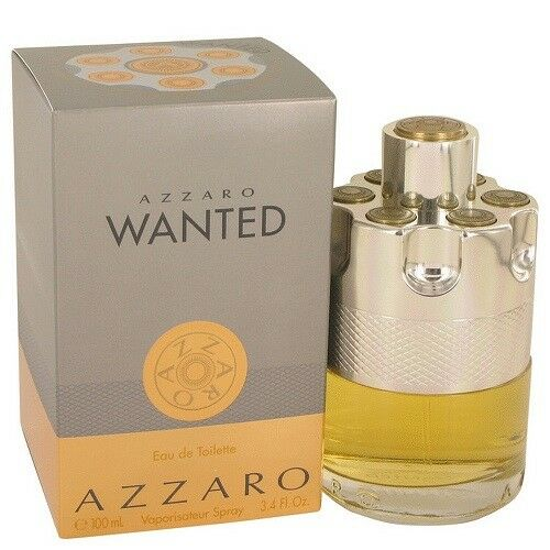 Azzaro Wanted by Azzaro 3.4 oz EDT Cologne for Men New In Box