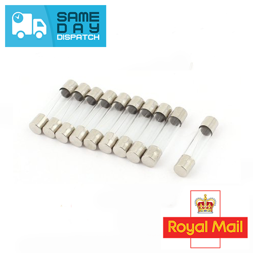 Pack of 50 Uxcell a15101300ux0051 250V 1.6AL Fast Quick Blow Glass Tube Fuses 5mm x 20mm 50 Pcs
