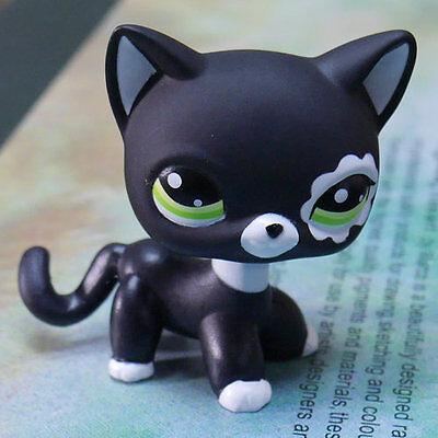 "BLACK CAT LITTLEST PET SHOP LPS COLLECTION Action Figure gift RARE #2249 TOY 2"""