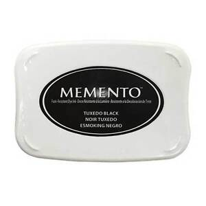 TSUKINEKO MEMENTO LARGE RUBBER STAMP INK  PAD FAST DRYING FADE RESISTANT DYE