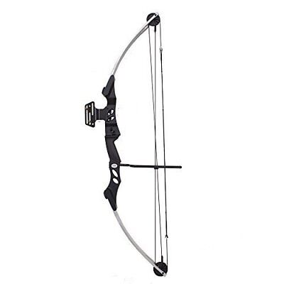 NEW SAS Siege 55 lb 29 Compound Bow w 5 Spot Paper Target  Black (Sas Siege 55 Lb 29 Compound Bow)