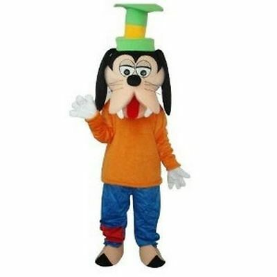 Christmas Goofy Mascot Costume Animal Dress Dog Outfit Adult Suit Parade Cosplay - Adult Goofy Costume