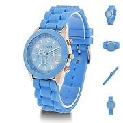 Mens Blue Dial Watch