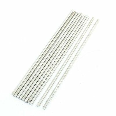 10pcs 150 X 3mm Stainless Steel Cylinder Linear Rail Round Rod Shaft New Free