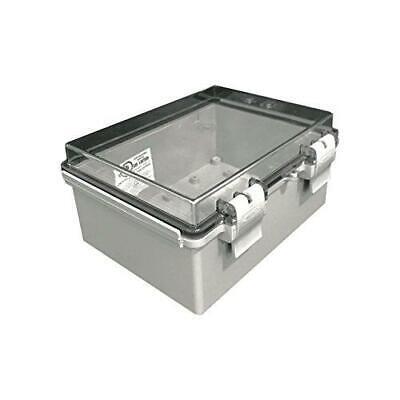 Bud Industries Nbf-32412 Plastic Outdoor Nema Economy Box With Clear Door
