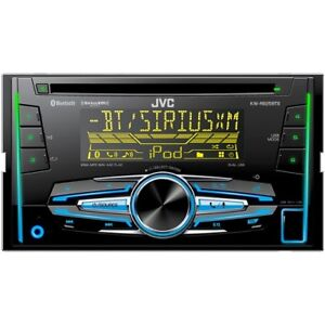 DOUBLE DIN JVS KW r925bts bluetooth audio