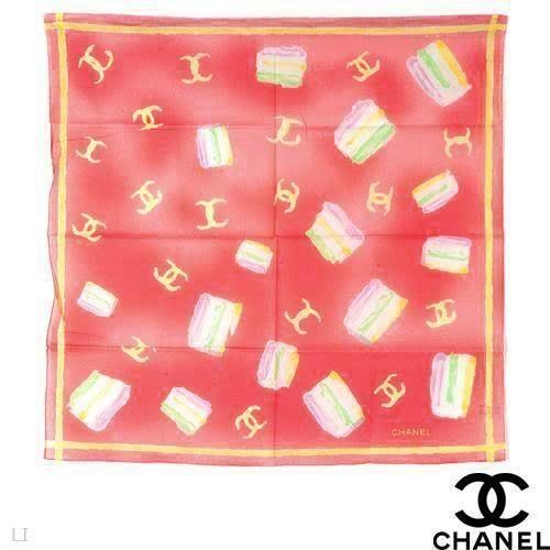 chanel cotton scarf scarves wraps ebay