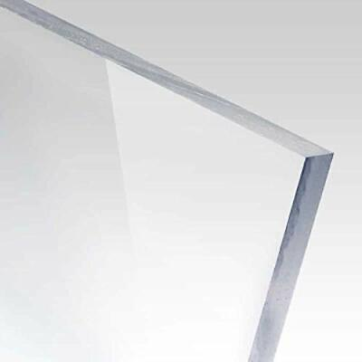 14 6mm Clear Polycarbonate Lexan Sheet 24 X 12 Azm New