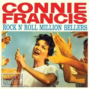 Connie Francis - Rock And  Roll Million Sellers NEW CD LIPSTICK ON YOUR COLLAR +