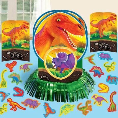 DINOSAUR Prehistoric Party TABLE DECORATING KIT (23pc) ~ Birthday Supplies Green](Prehistoric Dinosaur Party Supplies)