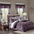 Madison Purple Comforter Sets
