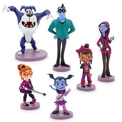 Disney Store Vampirina 6 Figure Figures Figurine Playset Set Cake Topper