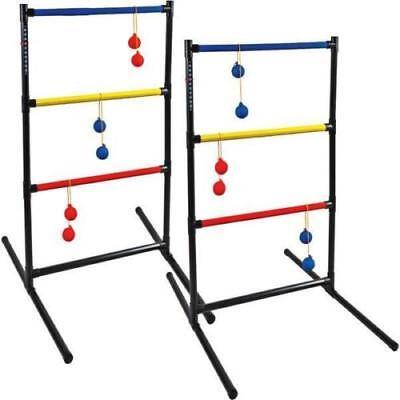NEW Halex Lasso Golf Ladderball Game Tailgate Backyard Game & Storage Carry Bag (Ladderball Game)