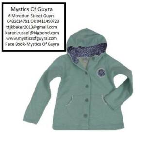Girls Hooded Cotton Jacket Armidale City Preview