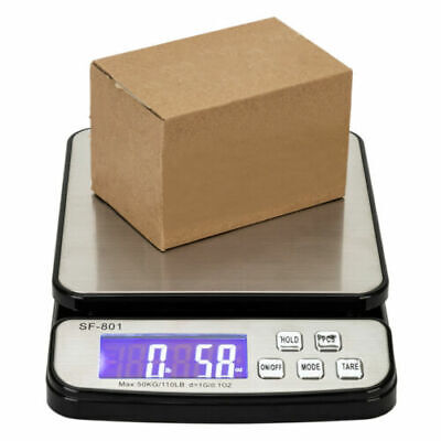 Digital Shipping Scale Postal Parcel Scale 110 Lbs Capacity 50 Kg W Ac Adapter