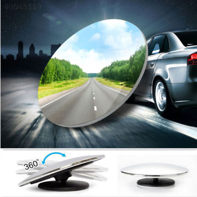 (1A40 1pcs Adjustable Auxiliary Wide Angle Blind Mirror Trucks Car Accessories)