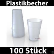 Plastikbecher 0 5