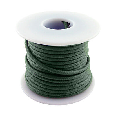 20 Awg Vintage Style Solid Cloth Wire 50 Spool Green