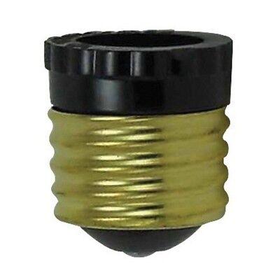 BAKELITE ~ SOCKET REDUCER ~ Standard Bulb Base E26 to Candelabra Base E12 - Standard Base Socket
