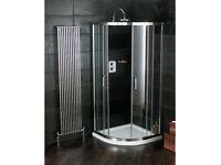 Atlas quadrant Shower with sliding doors 800 - RRP: £600