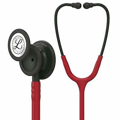 Classic Iii Monitoring Stethoscope Black-finish Chestpiece Stem And Headset 27in