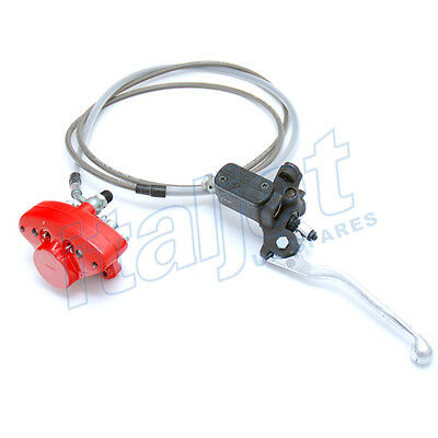 Italjet Dragster 125/180cc Rear Brake System Kit AJP Master Cylinder & Caliper