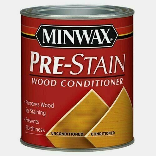Minwax Oil-Based PRE-STAIN 1 qt. Wood Conditioner Prevent Blotchiness 61500444