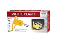 Brand New in box Wheel Clamp