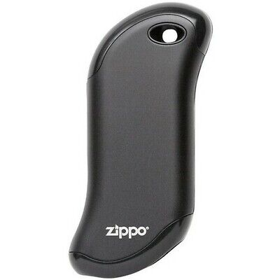 Zippo Rechargeable 2 Hour Hand Warmer /& Power Bank New In Package Black 40470