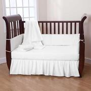 White Crib Bedding