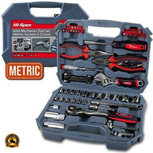 Garage Tool Set Equipment Kit Car Mechanic Basic Professional Box Auto Tools NEW
