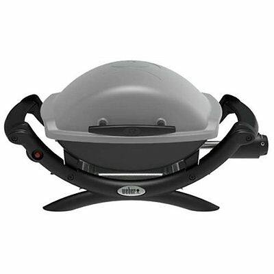 Weber Q 1000 Propane Portable Gas Grill Table Top Titanium 50060001 NEW