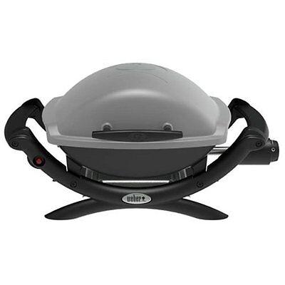 Weber Q 1000 Propane Portable Gas Grill Table Top Titanium 50060001 NEW
