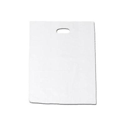 2000 Griffloch - Tragetaschen, weiß, 40x50cm