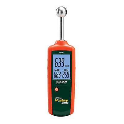 Extech Mo257 Pinless Moisture Meter With Non-invasive Measurements
