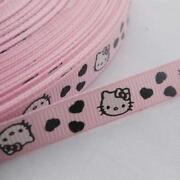 1.5 Pink Grosgrain Ribbon