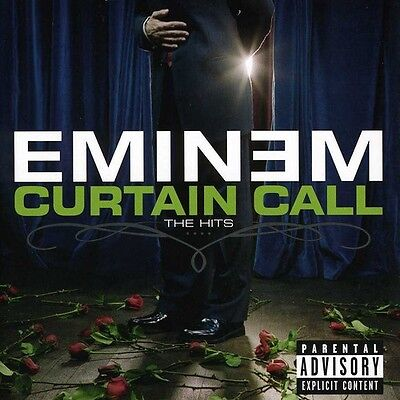 Eminem   Curtain Call  The Hits  New Cd  Explicit