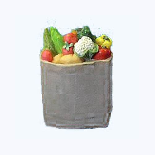 Miniature --  Shopping Bag -- Vegetables 1:12 doll houses,craft projects