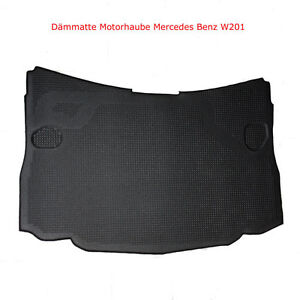 mercedes benz w201 d mmmatte d mpfung motorhaube d mmung motor neu 190 190e 190d ebay. Black Bedroom Furniture Sets. Home Design Ideas