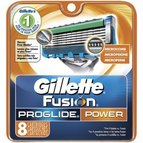 GILLETTE Fusion5 Proglide Power Refill Razor Blade Cartridge