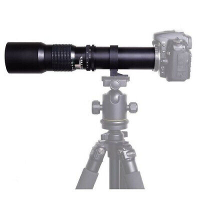 500mm f/8.0 Telephoto Lens + T T2 Mount for Canon 1Ds 1D 5D Mark II III 7D 6D X