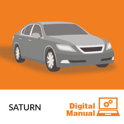 Saturn   Service And Repair Manual 30 Day Online Access