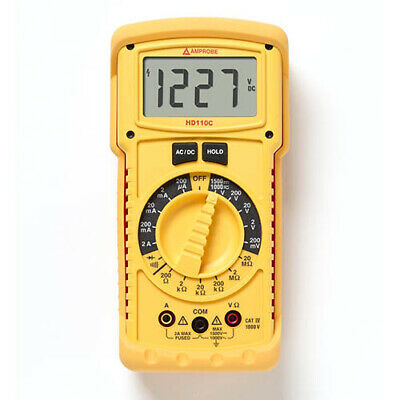 Amprobe Hd110c Heavy Duty Digital Multimeter Ip67 1500 Volts Dc