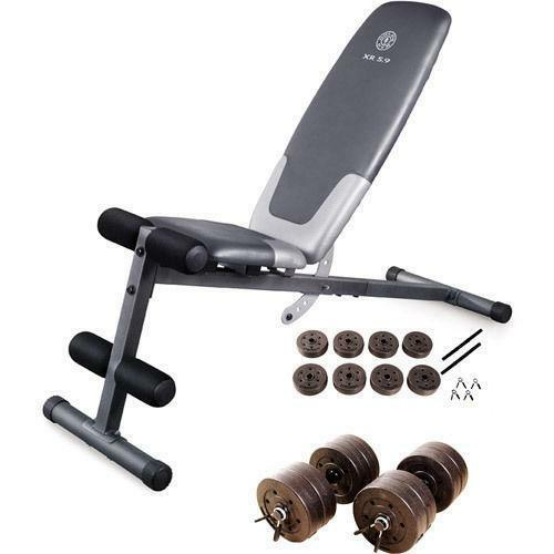 Weight bench set ebay Bench weights
