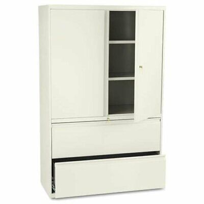 Hon 800 Series Wide Lateral File With Storage Cabinet - 42